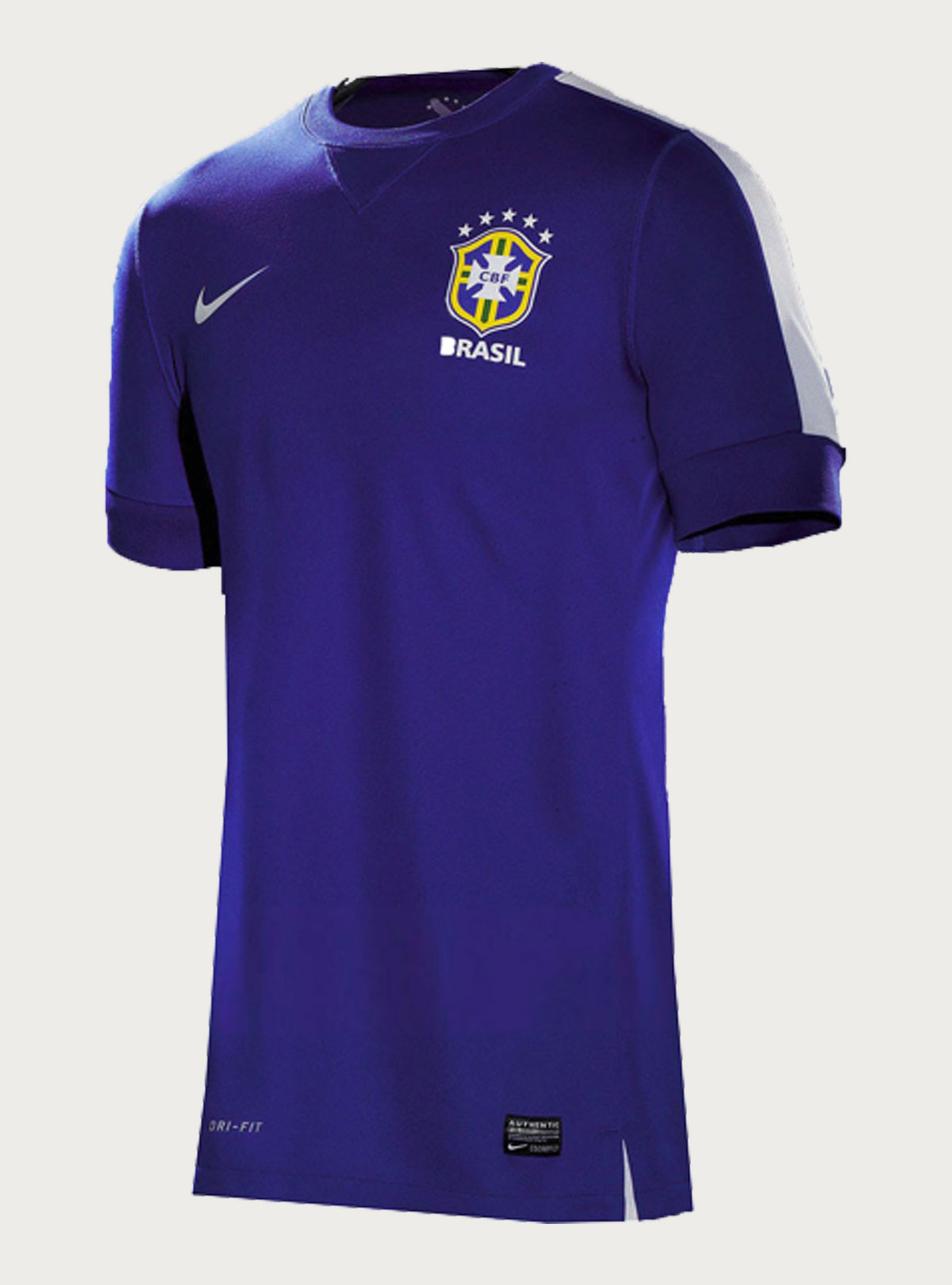 Brazil's Confed. Cup Away Premium Jersey