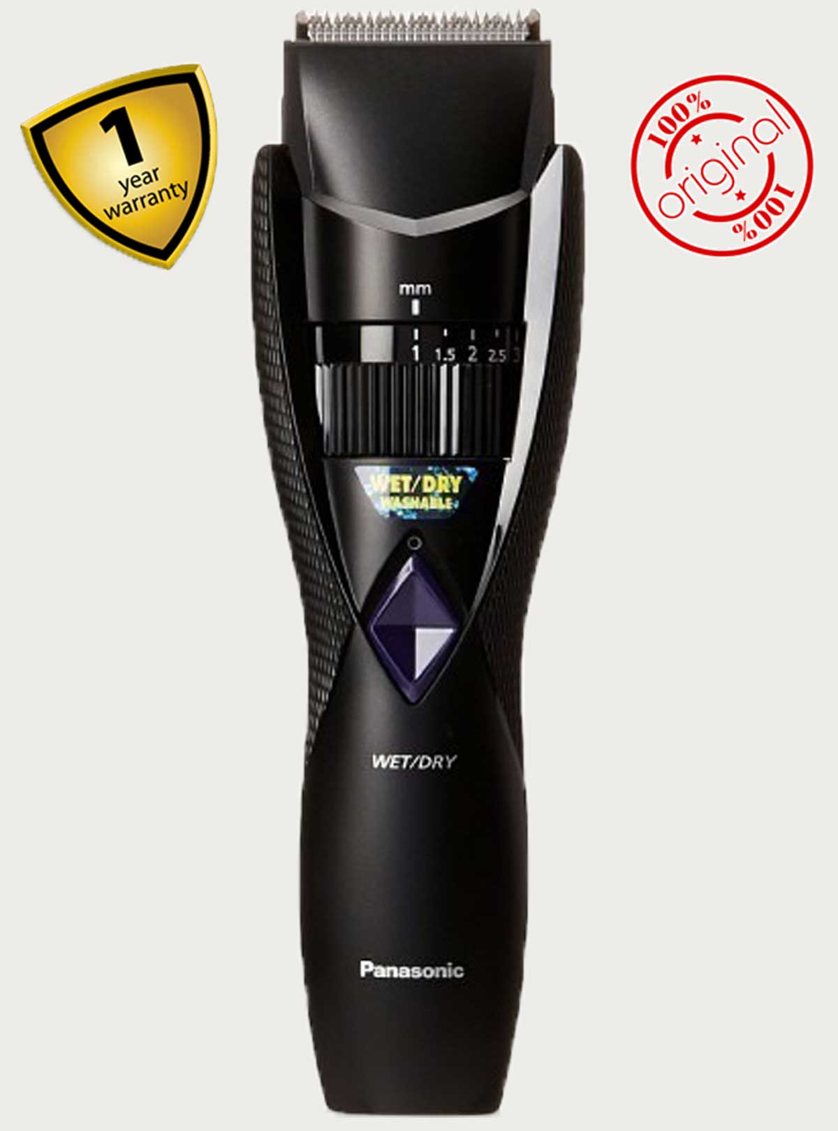 Panasonic ER GB37 Rechargeable Beard Trimmer Wet Dry Washable