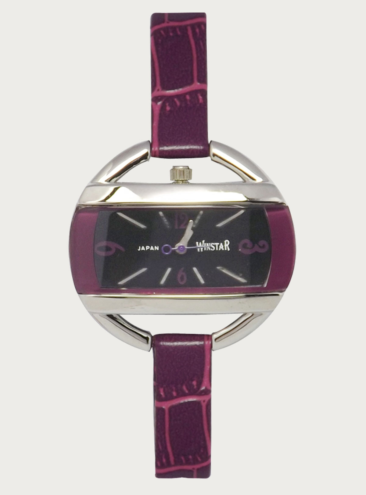 Winstar Ladies Watch 883 Purple- Black