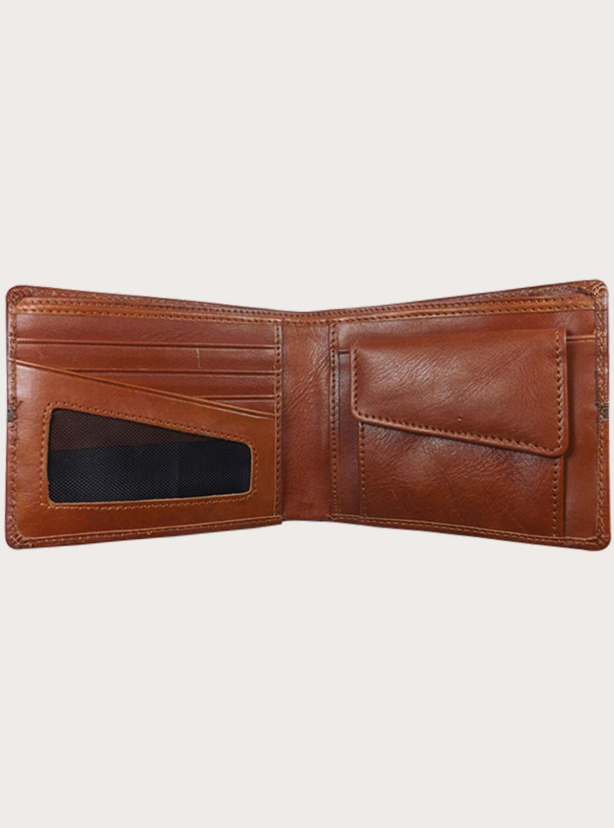 Classic Brown Leather Wallet AR71