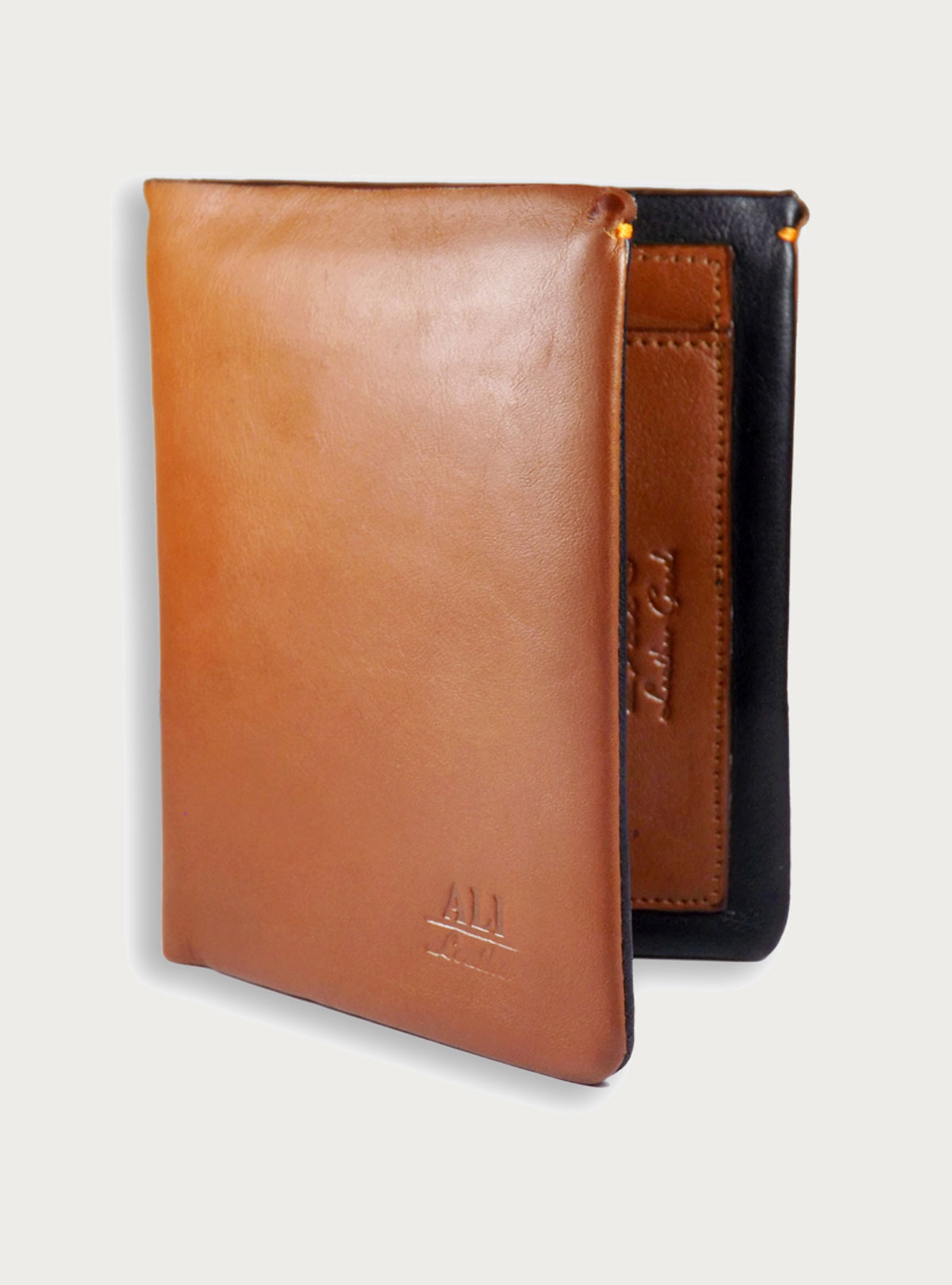 Soft Allergy Free Leather wallet Brown