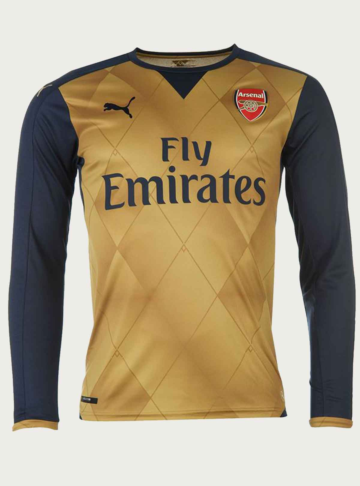 Arsenal Away Full Sleeve Jersey 2015-16