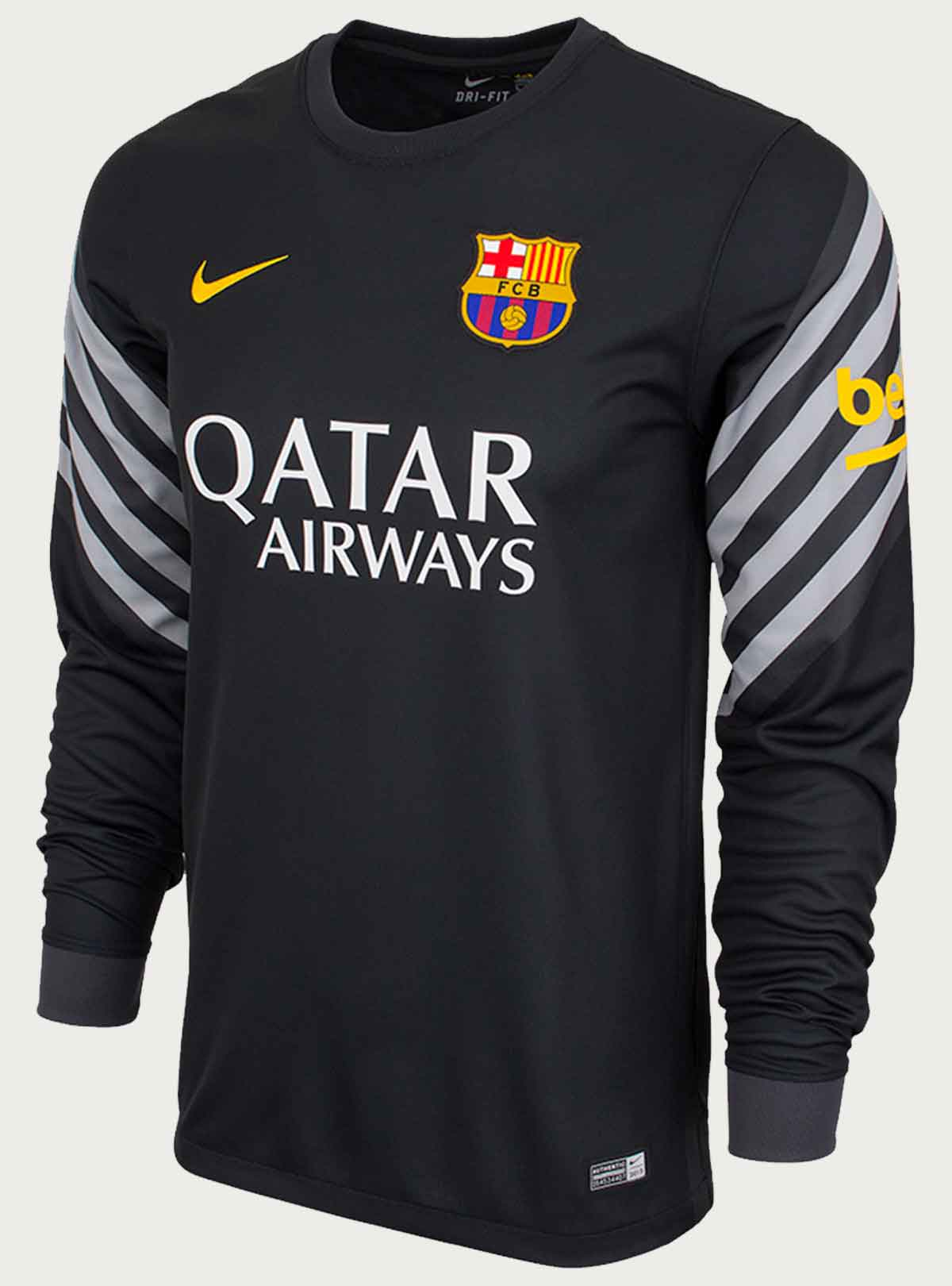 Barcelona Goalkeeper Full Sleeve Jersey 2015-16