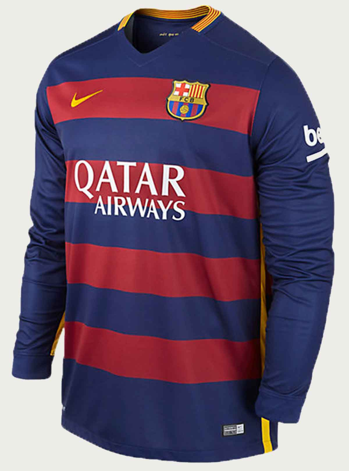 Barcelona Full Sleeve Home Jersey 2015-16
