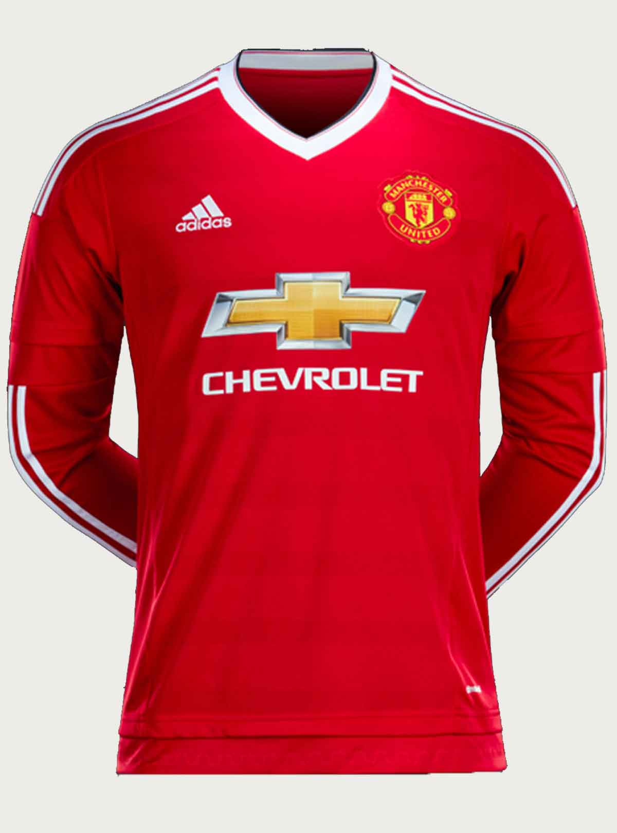 Manchester United Home Full Sleeve Jersey 2015-16