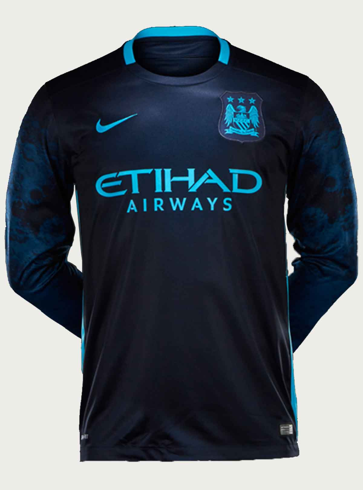 Manchester City Away Full Sleeve Jersey 2015-16
