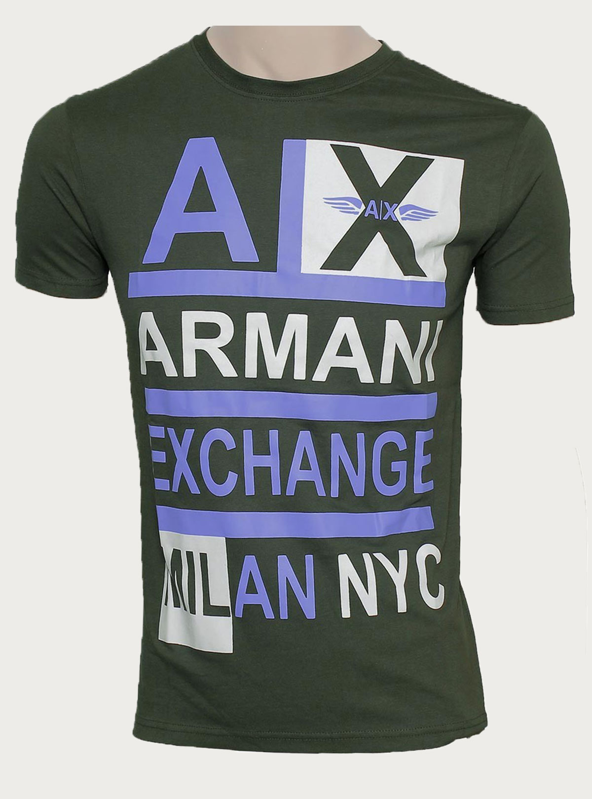 Round T-Shirt BY-  Armani Exchange