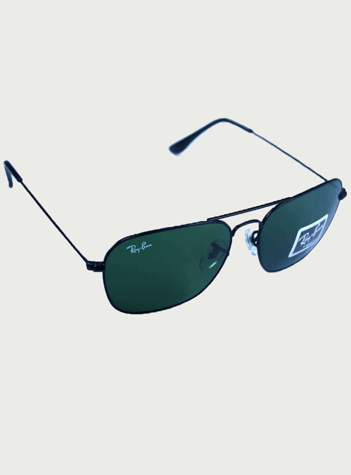 Ray.Ban Tech Black-Green Sunglass