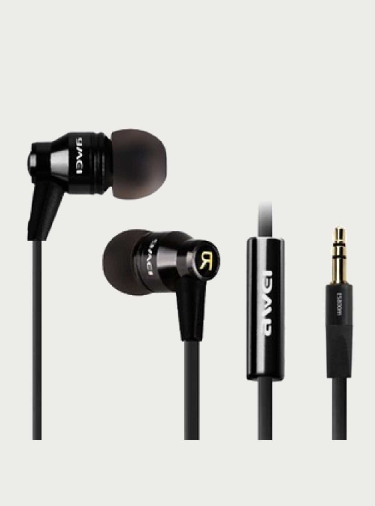 Awei Es-800m Noise Isolating Hi-definition Aluminum Alloy In-earphones