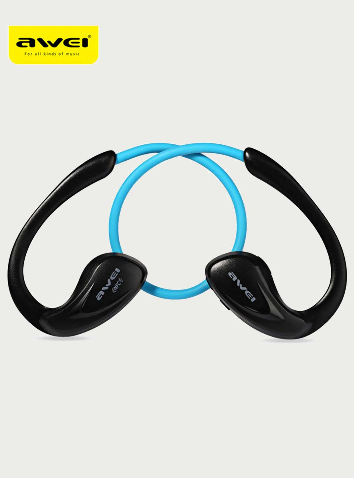 Awei A880BL Wireless Sports Earphones headphone Bluetooth V4.0 Earhook headset For Mobile phone