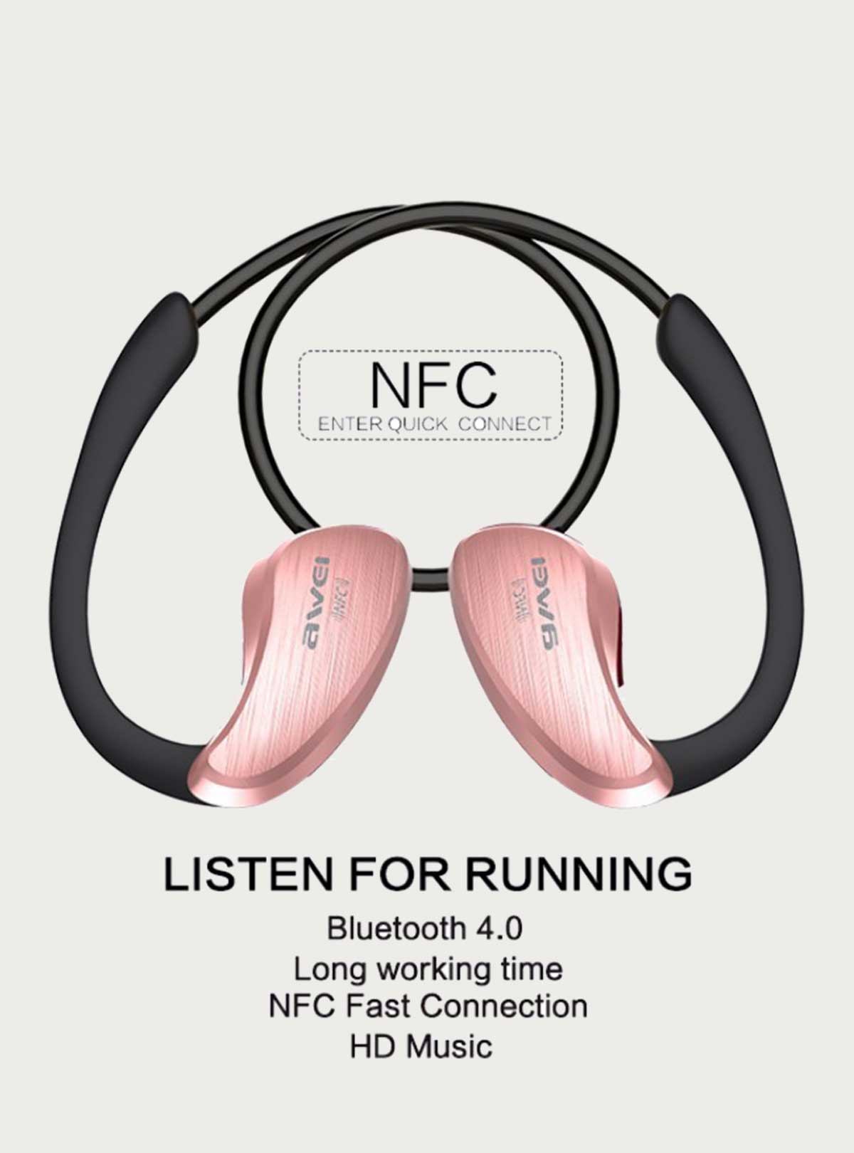 Awei A885BL Wireless Sports Headphone Bluetooth Stereo Music Earphone Handsfree Headset With Mic &NF