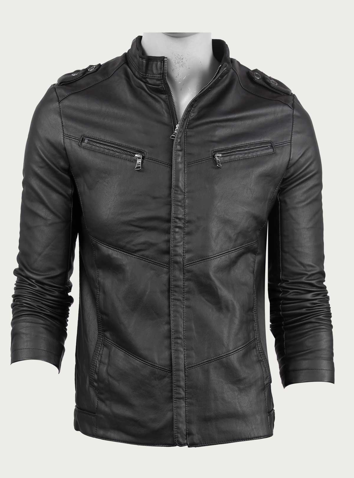Faux Leather Jacket Esho Com Best Online Shopping In Bangladesh
