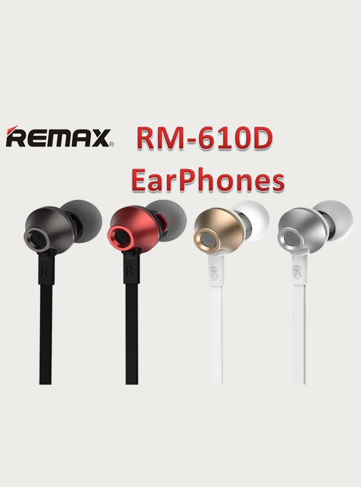 Remax RM-610d Earphone for Mobile Phone
