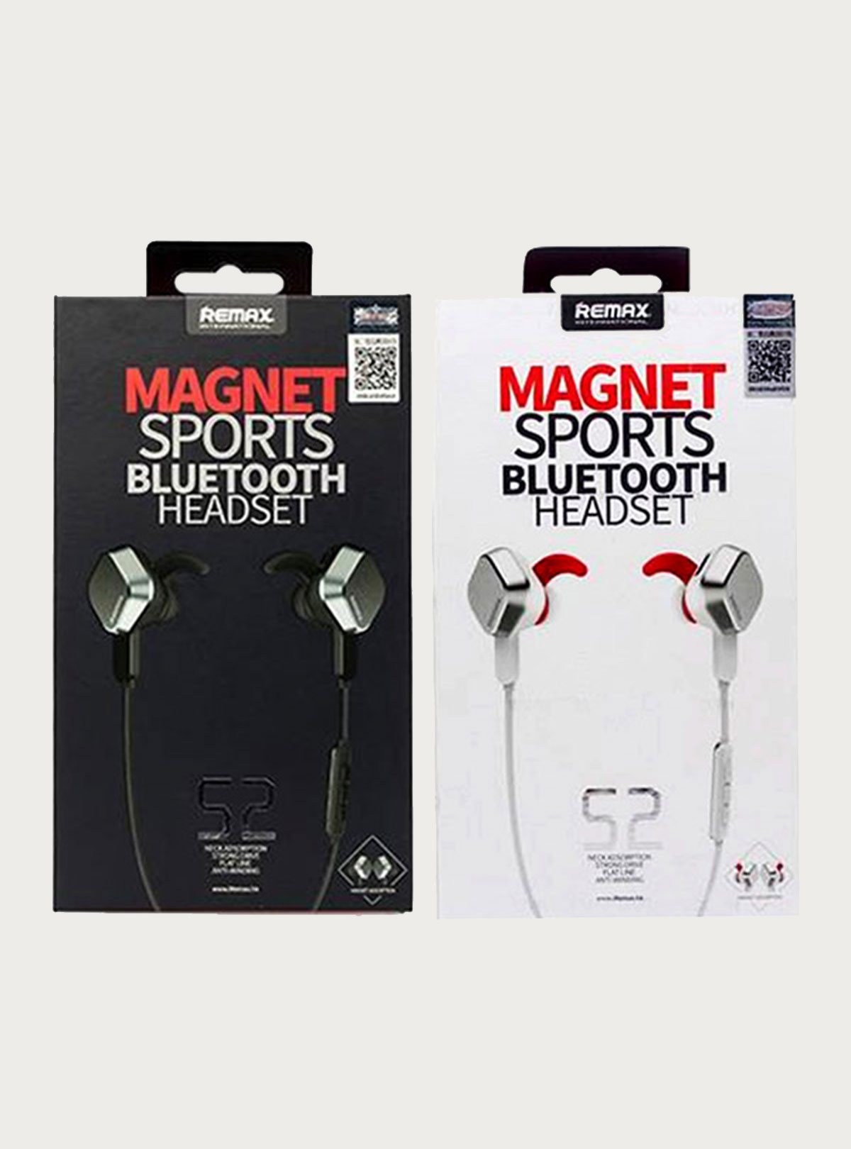 Remax S2 Magnet Sports Bluetooth Headset Remote Control with Mic