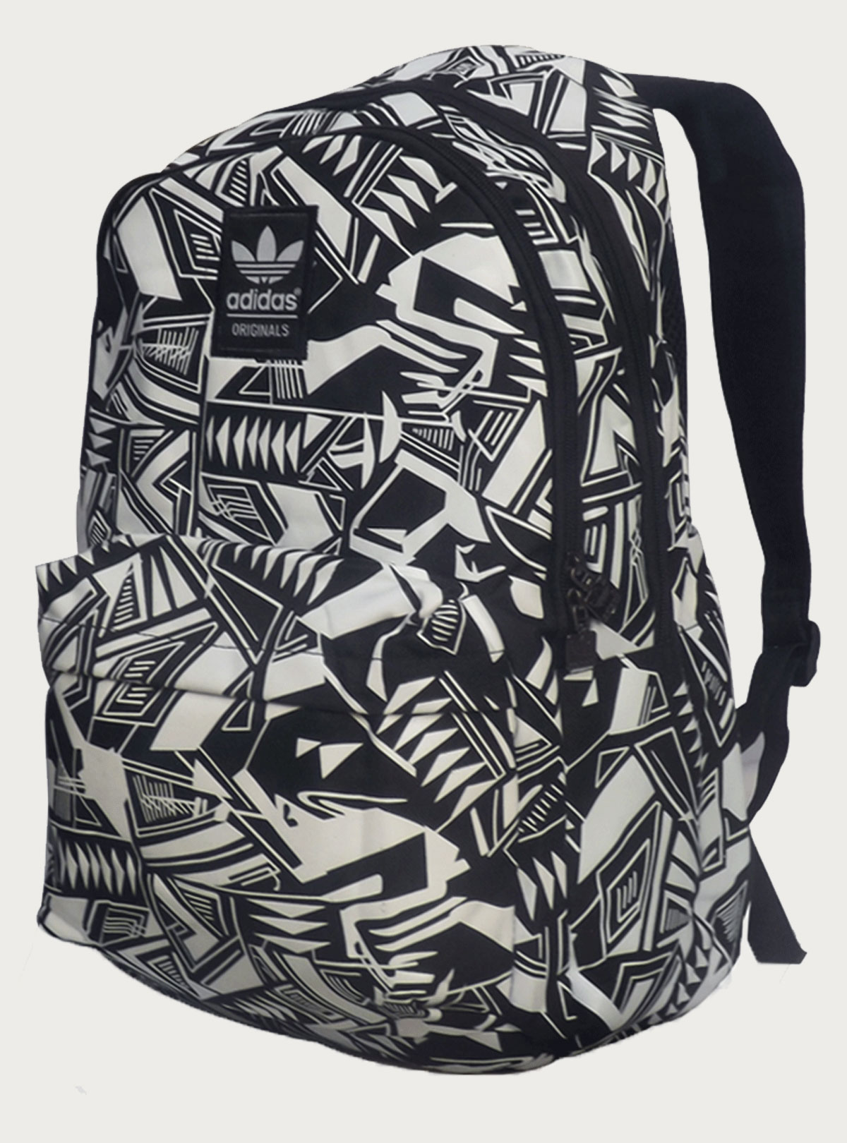 Adidas Black- White Campus Backpack