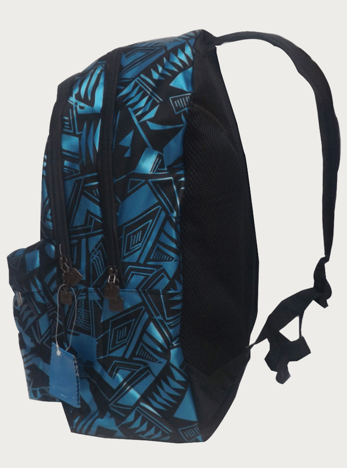 Adidas Black- Blue Campus Backpack