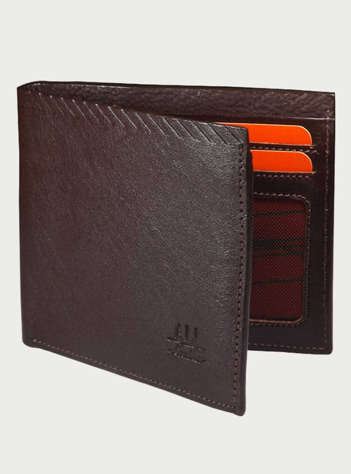 Classic men's Leather wallet AR-76 with SIM/SD Card Slot