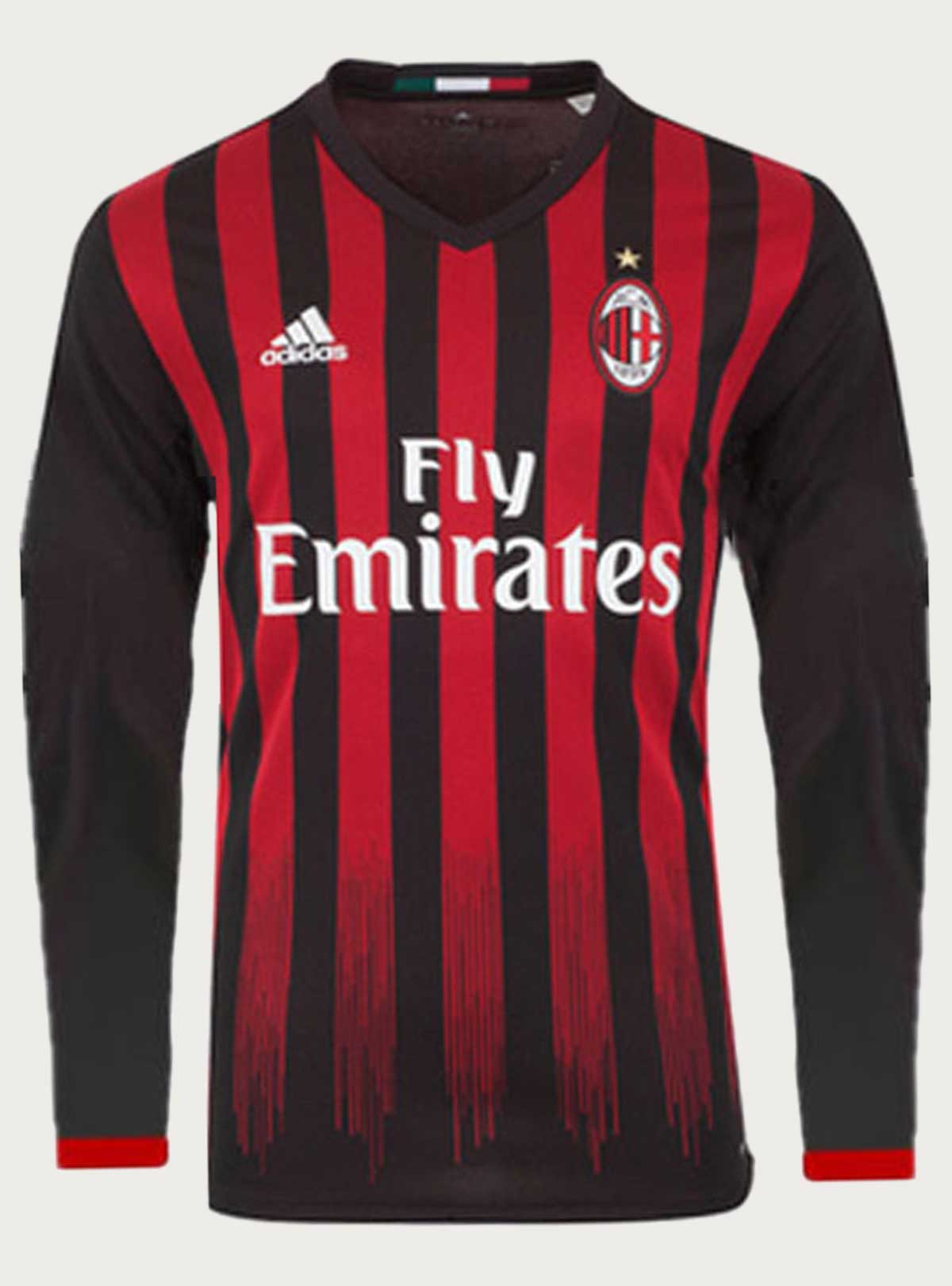 09621c92e03 AC Milan Full Sleeve Home Jersey 2016-17