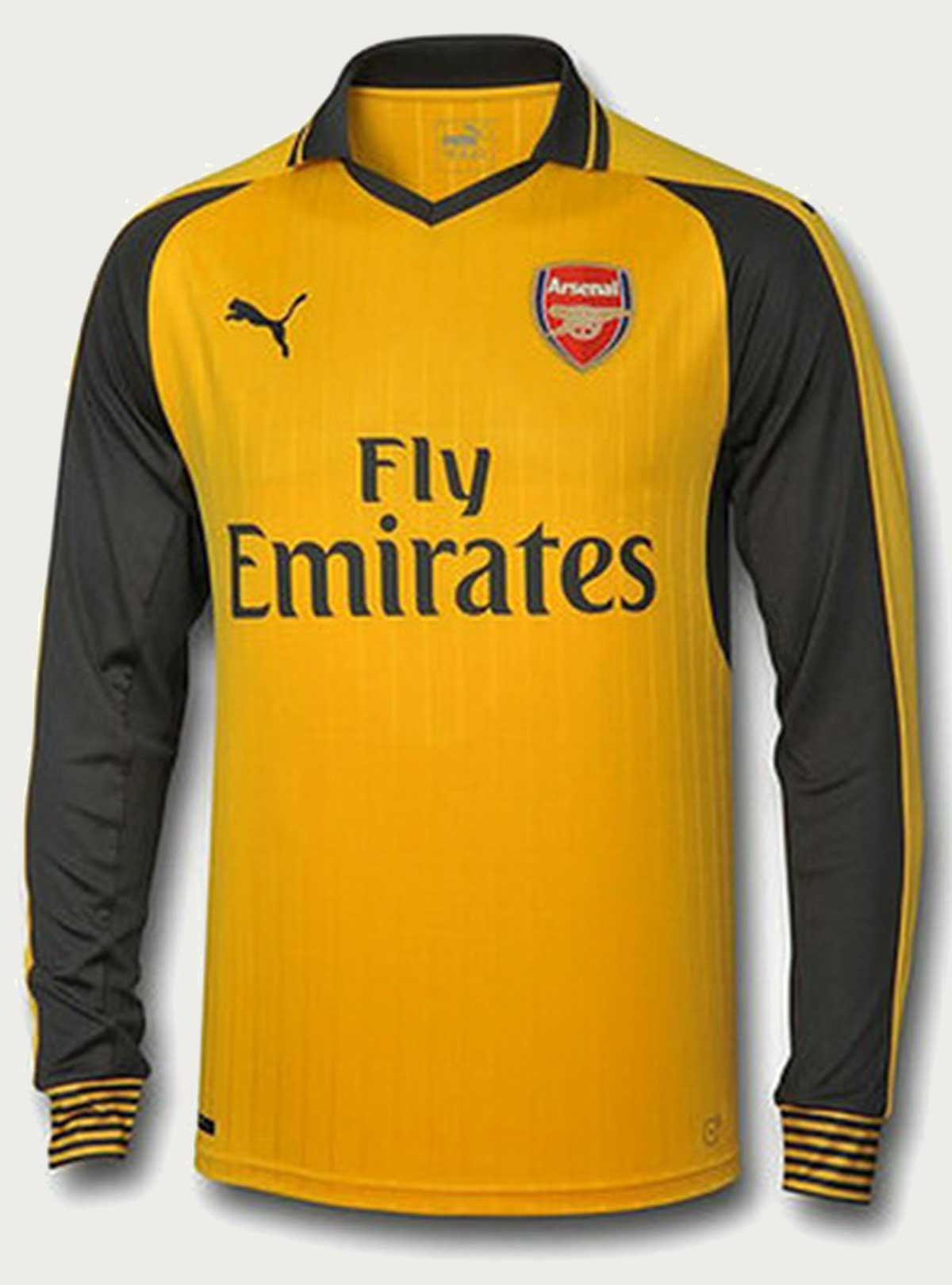 Arsenal Full Sleeve Away Jersey 2016-17