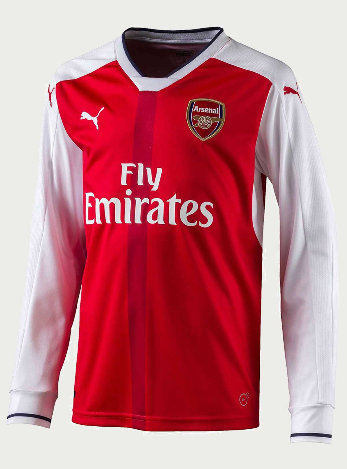 Arsenal Full Sleeve Home Jersey 2016-17