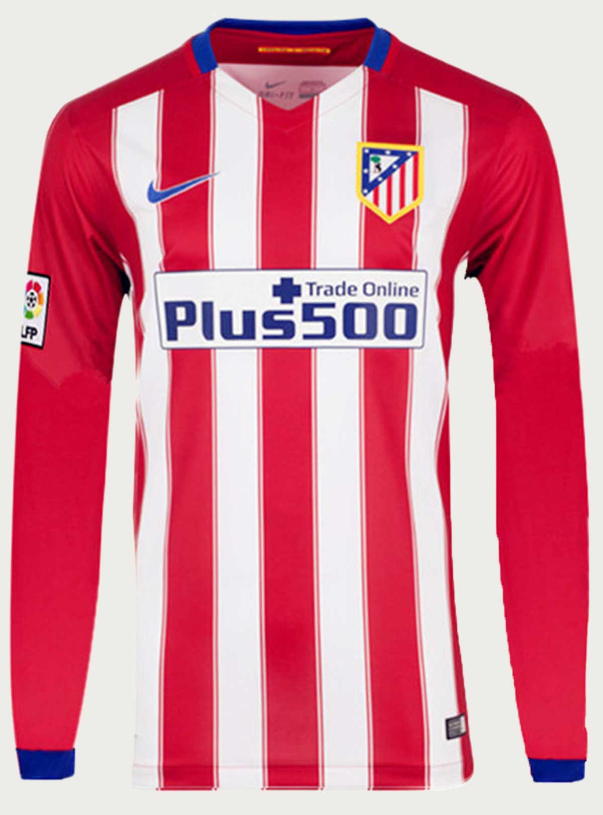Atletico Madrid Full Sleeve Home Jersey 2016-17