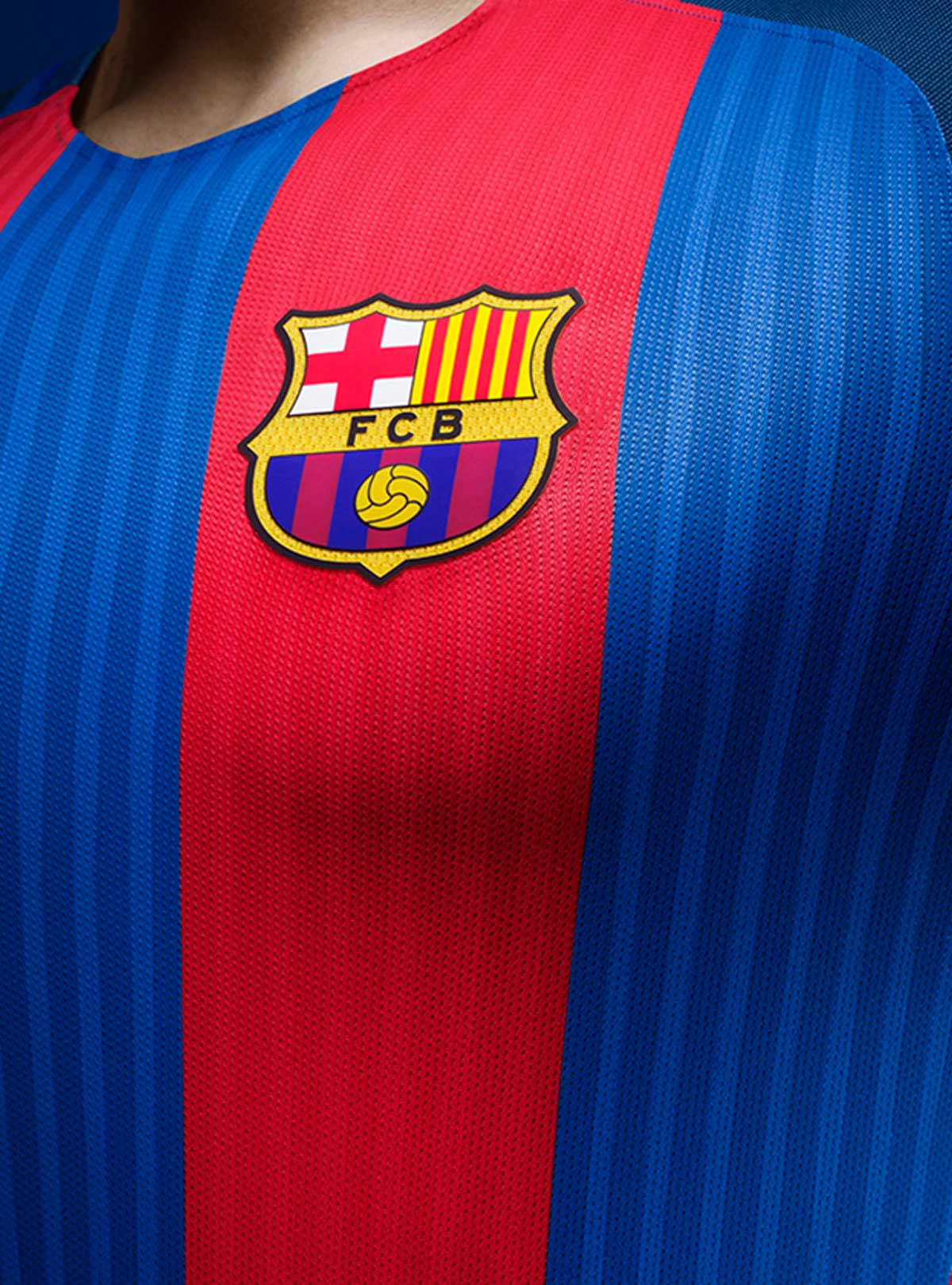 Barcelona Full Sleeve Home Jersey 2016-17