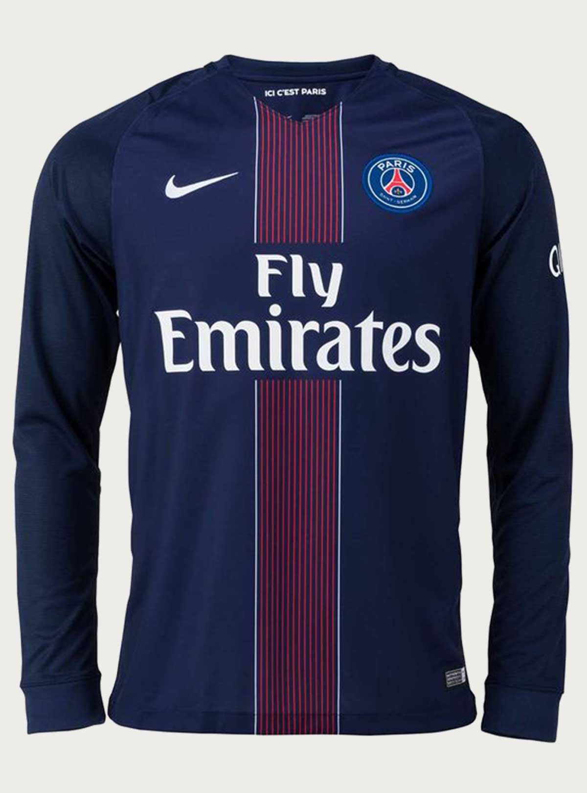 PSG Full Sleeve Home Jersey 2016-17