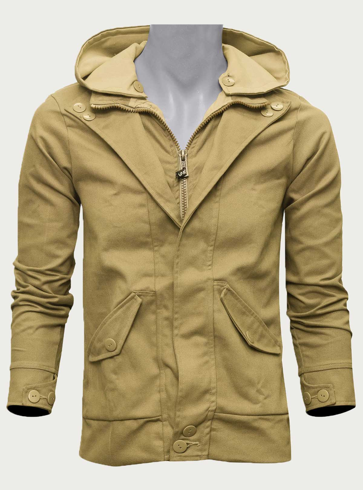 Hooded Blazer By VARIATION