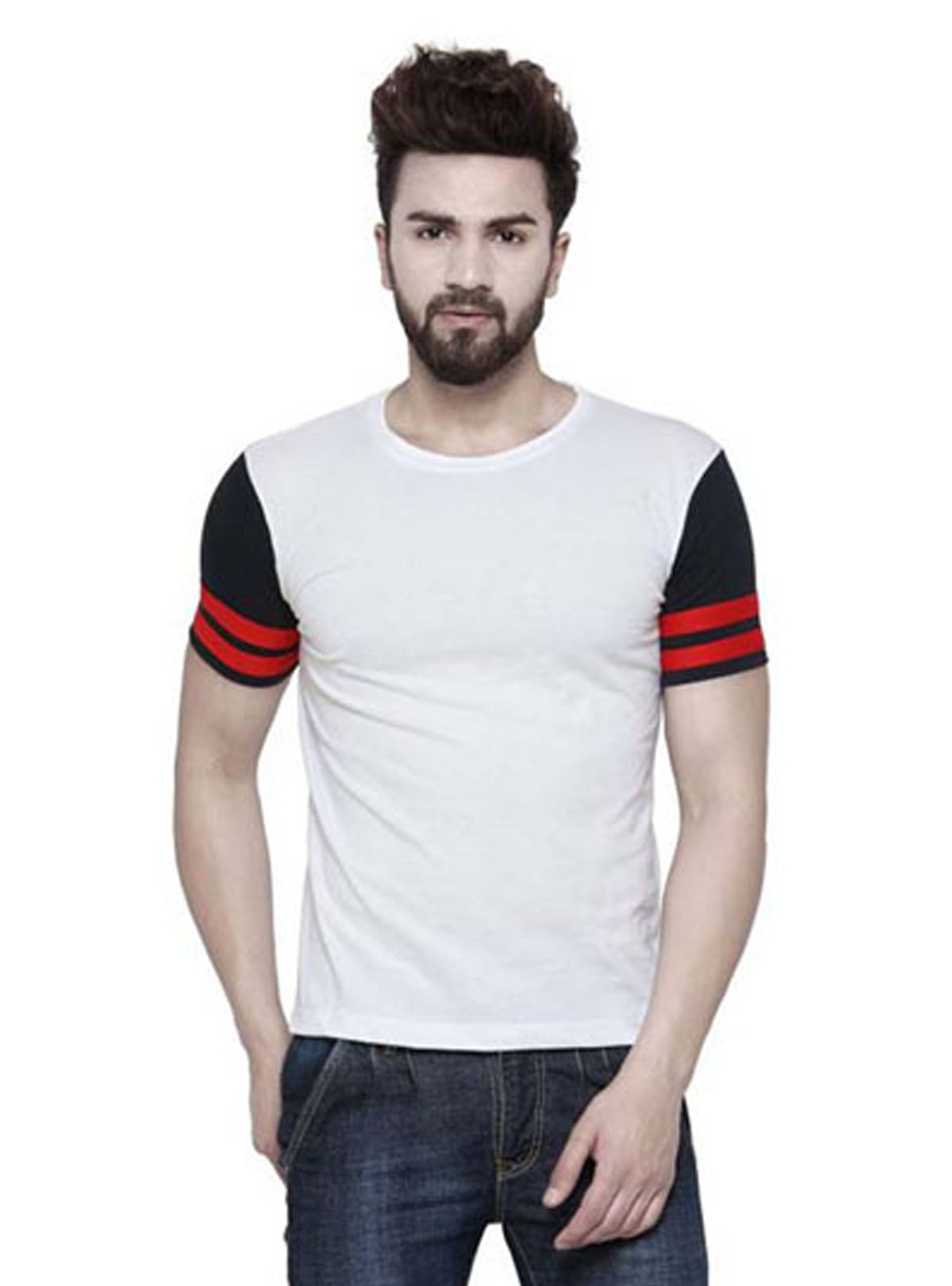 Half Sleeve Mens T Shirt By Swapons World